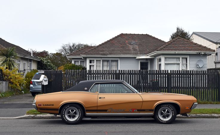 https://flic.kr/p/UDR6ZF | 1970 Ford Cougar | The Cars of Christchurch, New Zealand