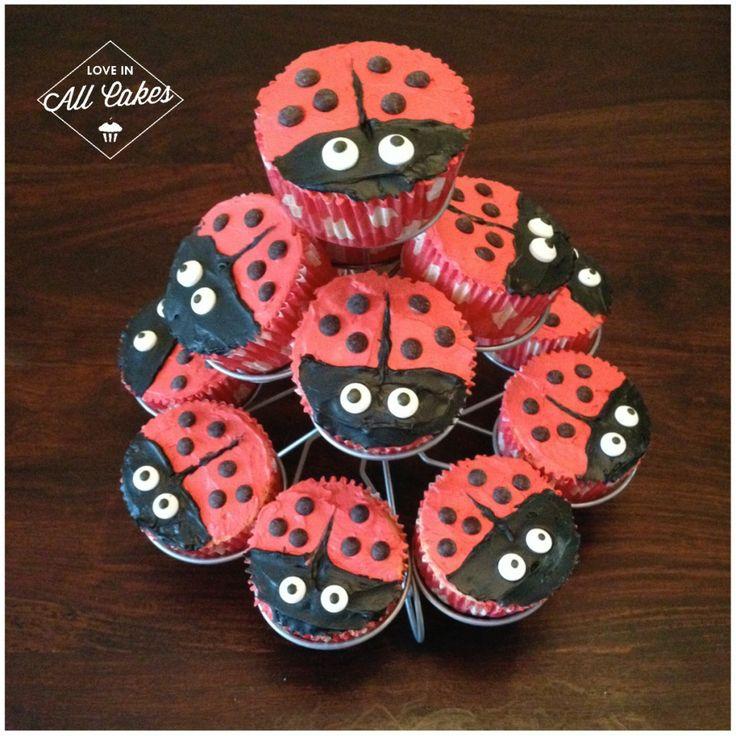 Marienkäfer Cupcakes / Lady Bug Cupcakes