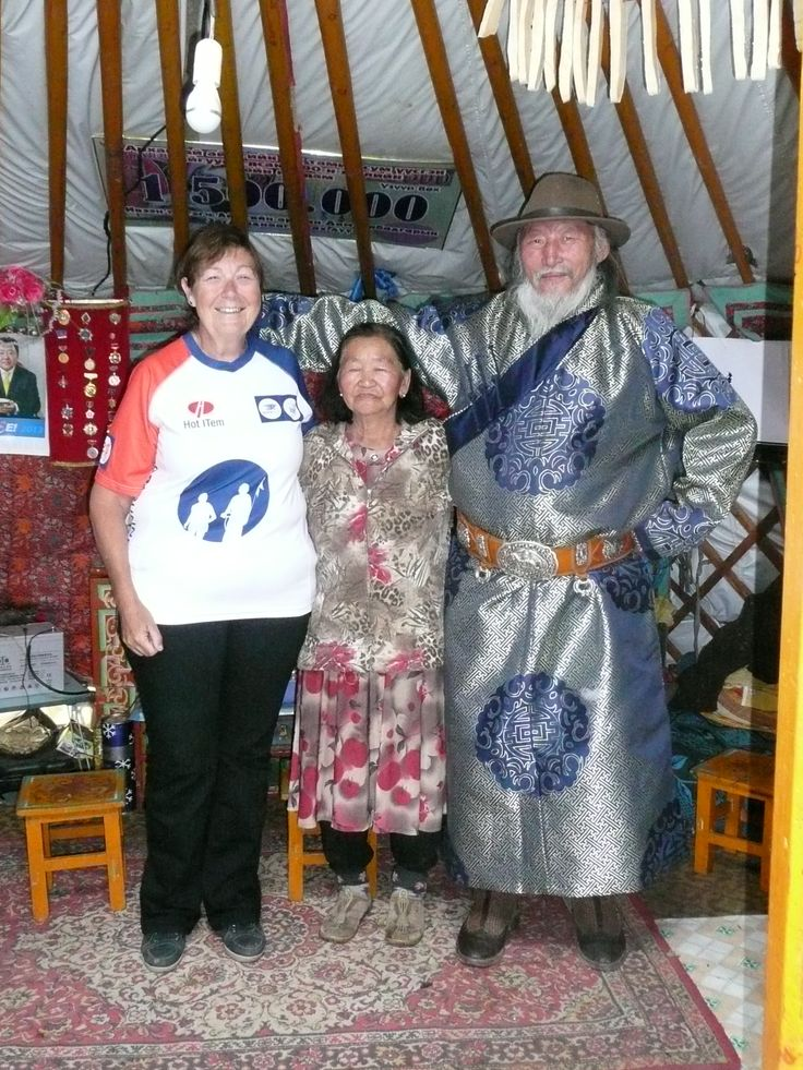 Vera Möllers in Mongolië