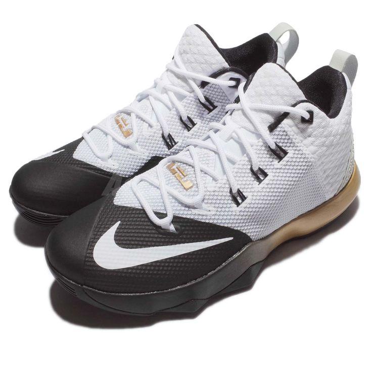 Nike Ambassador IX 9 Lebron James LBJ CAVS Black Gold Men Basketball 852413-110