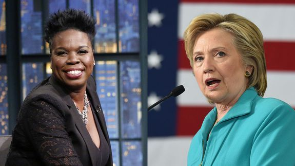 Hillary Clinton tweets her love to Leslie Jones after the hack