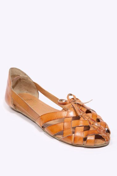 Urban Outfitters -Tan Woven Shoes  32 pounds
