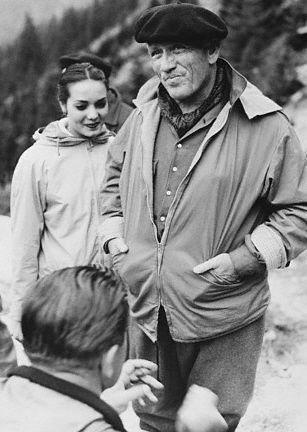 Anna Kashfi and Spencer Tracy