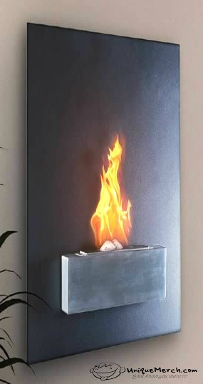 Biofuel Fireplace - $584.00 - The contemporary biofuel fireplace combines the beauty and charm of  real flames with a design suitable for every room in your home. The biofuel fireplace makes any room in your house a cozy and romantic space.