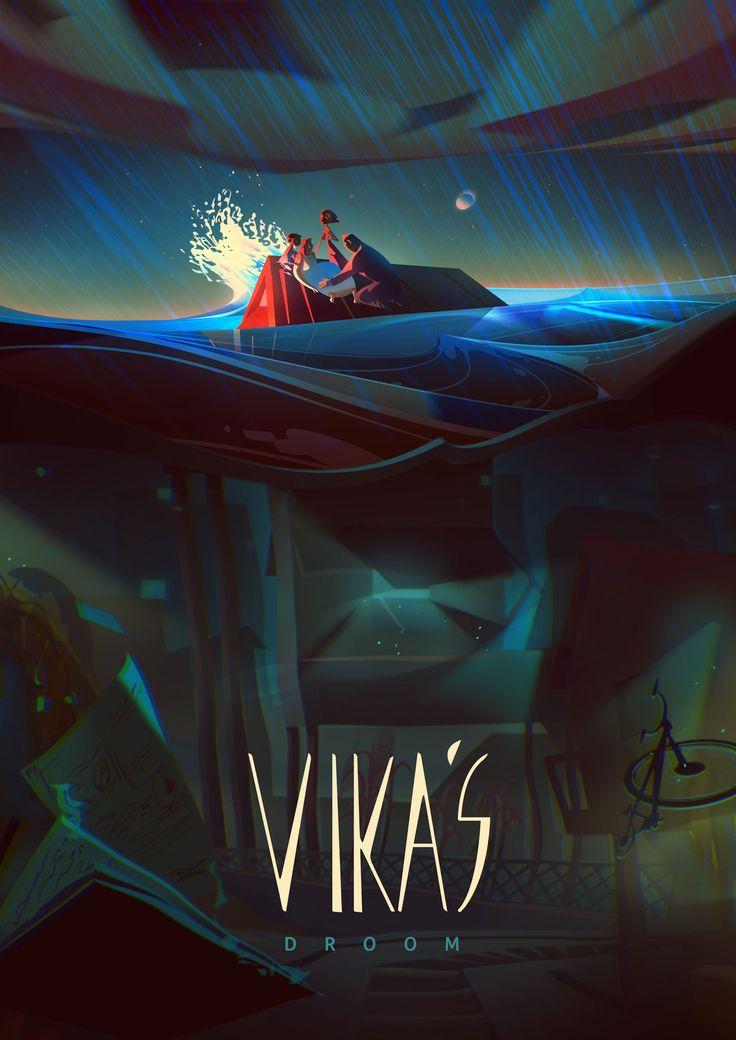 Vika's Dream, da Alton Animação e Santa Transmedia, para ING e Unicef