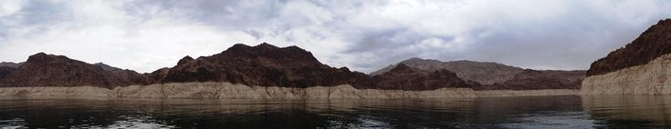 One year ago today I spent the day boating on Lake Mead and the Colorado River. [OC] [9633x1860]