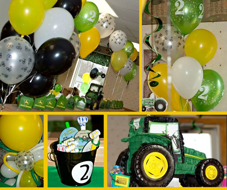 John Deere birthday party