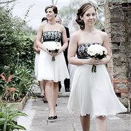 Black & white  dresses