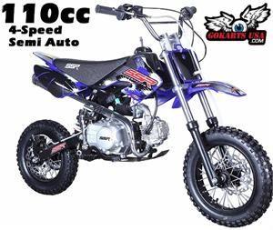 2018 SSR 110 SEMI Auto Mini Dirt Bike SSR 110 SEMI Mini