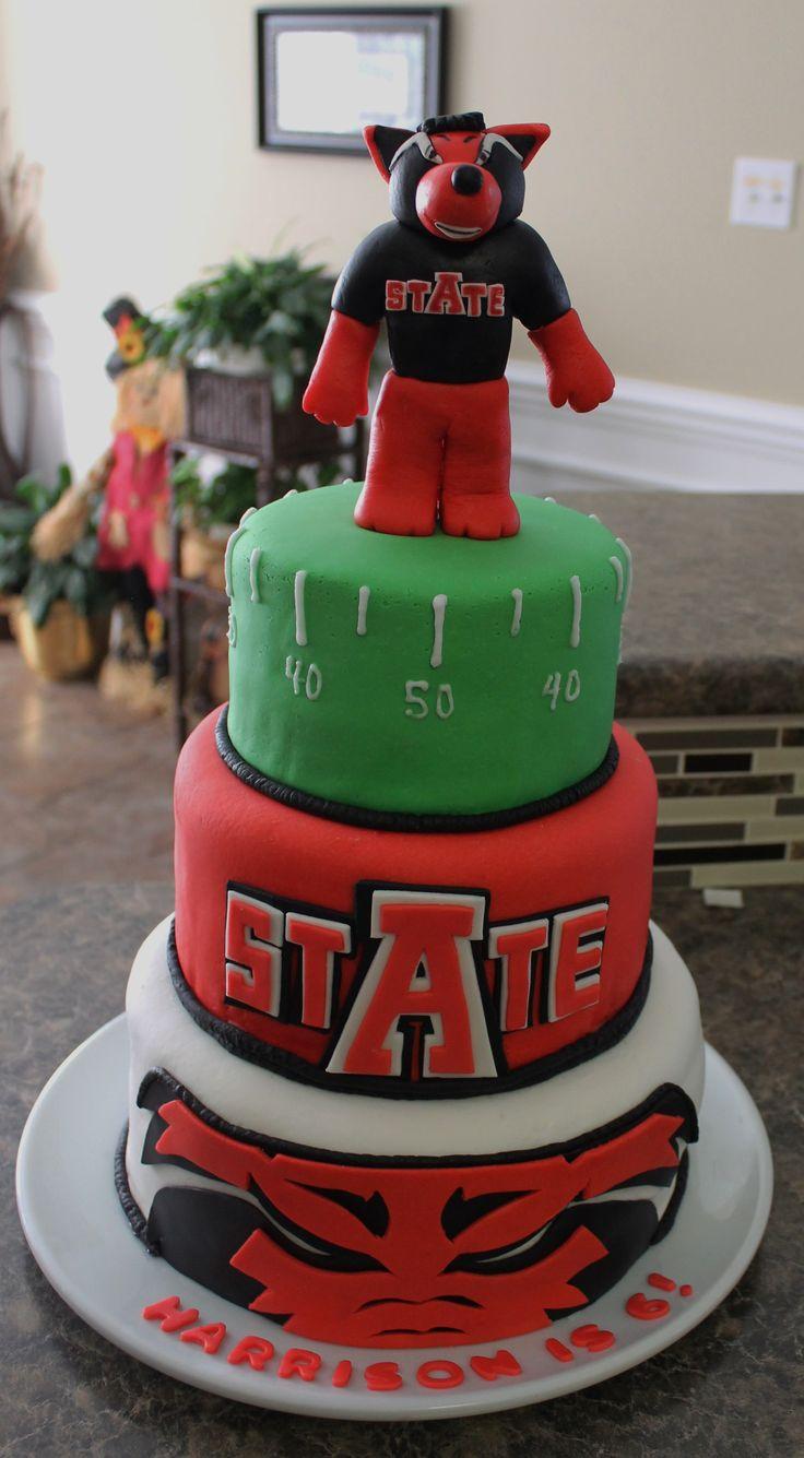 University Of Arkansas Graduation  Cakes