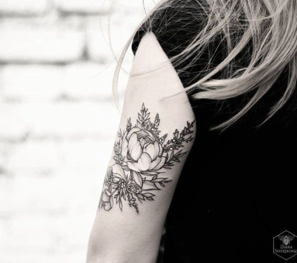 25+ Trending Back Arm Tattoos Ideas On Pinterest