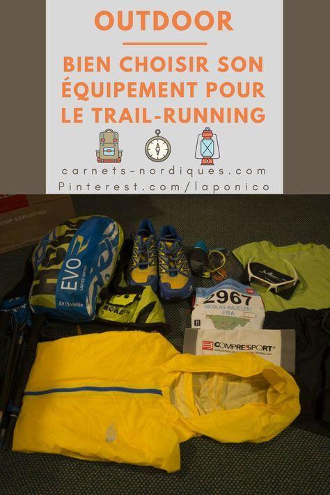 Choisir son équipement pour le #trail et le #running