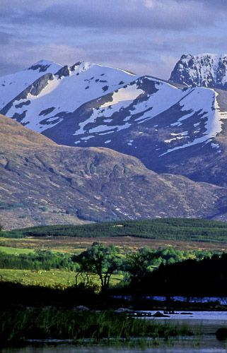 Ben Nevis and the Grey Corries, Scotland