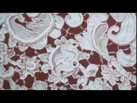 Doretta Davanzo Poli. Il merletto nell'arte cerimoniale ebraica. 2° parte - YouTube