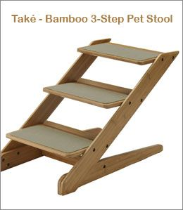 Také Bamboo 3-Step Pet Stairs  sc 1 st  Pinterest & 42 best DIY Doggie Steps images on Pinterest | Dog stairs Doggies ... islam-shia.org