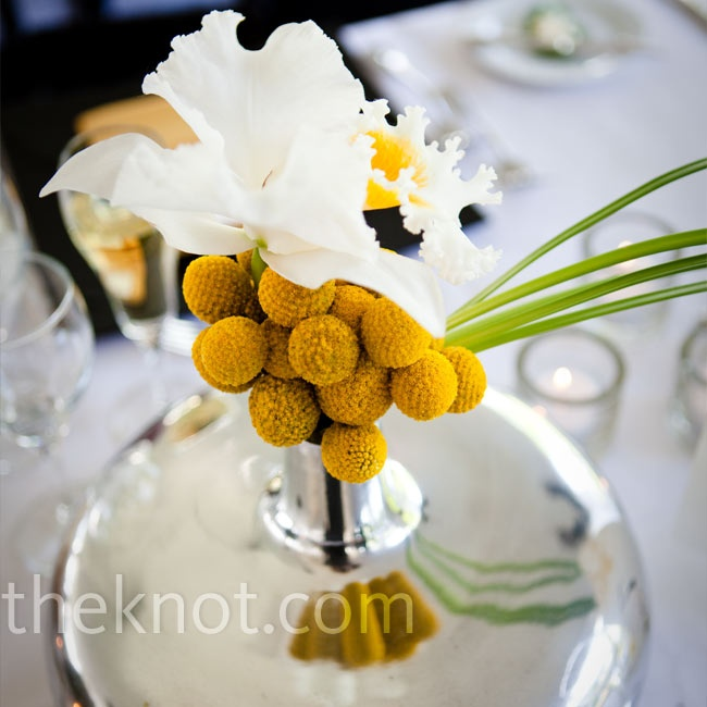 Best yellow centerpieces ideas on pinterest