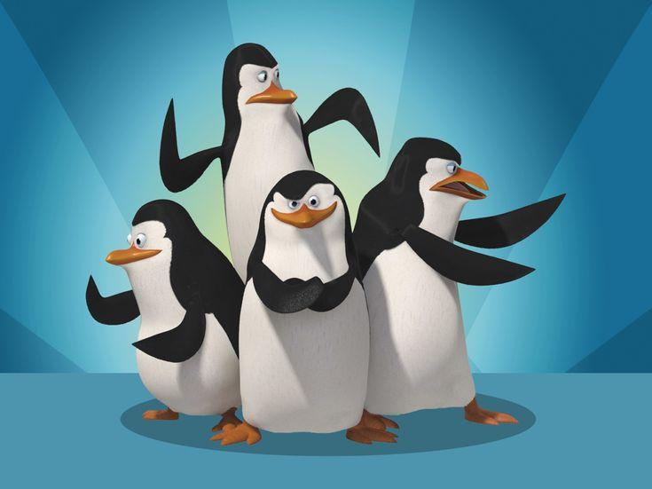 Pingüins de Madagascar