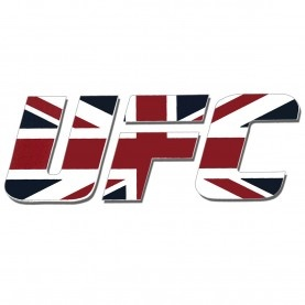 UFC UK Diecut Vinyl Decal