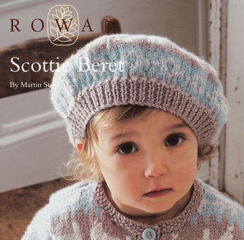 FREE Rowan Pattern: Scottie Beret by Martin Storey in Rowan Baby Merino Silk DK