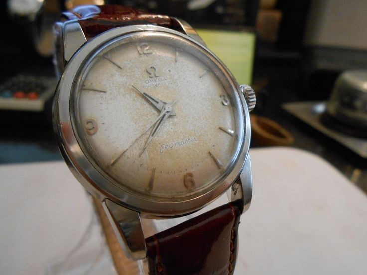 Vintage 1950s Omega Automatic Seamaster 17 Jewels Movement ...