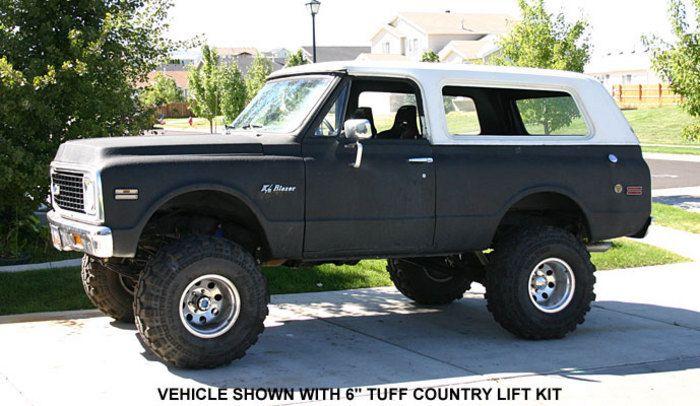 """chevy with a lift kit 