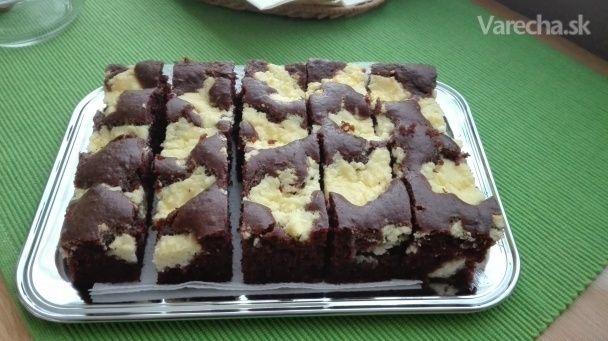 Kefírový tvarohový koláč (fotorecept)