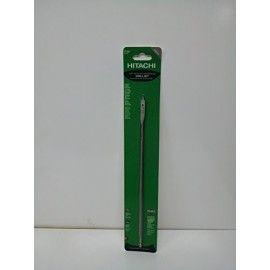 """12 Wood Boring Space Bits  Looking out to Buy Hitachi Products Online USA? Now get the genuine Hitachi Products at the best price only on shopshiphappy.com  Size: 3/8 Features: -Dura core.-Packaging: Card.-Available in 3/8\'\', 1/2\'\', 5/8\'\', 3/4\'\', 7/8\'\', 1\'\', 1-1/4\'\' and 1-1/2\'\'. Dimensions: -12\'\' Wood boring Space Bits. \"""""""