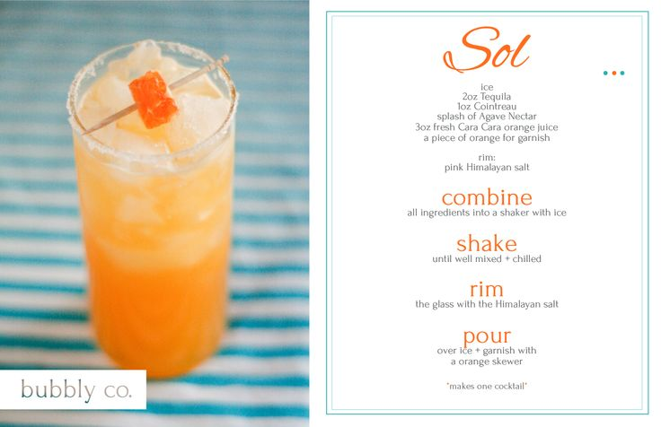 Add a little sunshine to your next celebration, give the Sol a try!