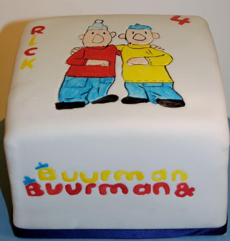 Buurman&Buurman painted on cake