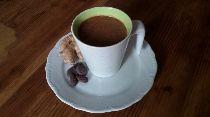 Kochen nach Blutgruppe. Rezept für einen Schoko-Ingwer-Drink. Dieser Drink kann sehr gut als Kaffee-Ersatz genutzt werden. Durch die Gewürze bekommt der Drink eine ganz besondere Note. Schmeckt auch kalt sehr gut.