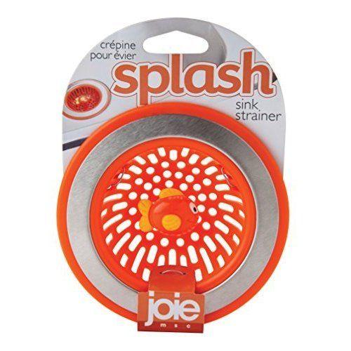 Joie Splash Plastic Kitchen Sink Strainer Basket