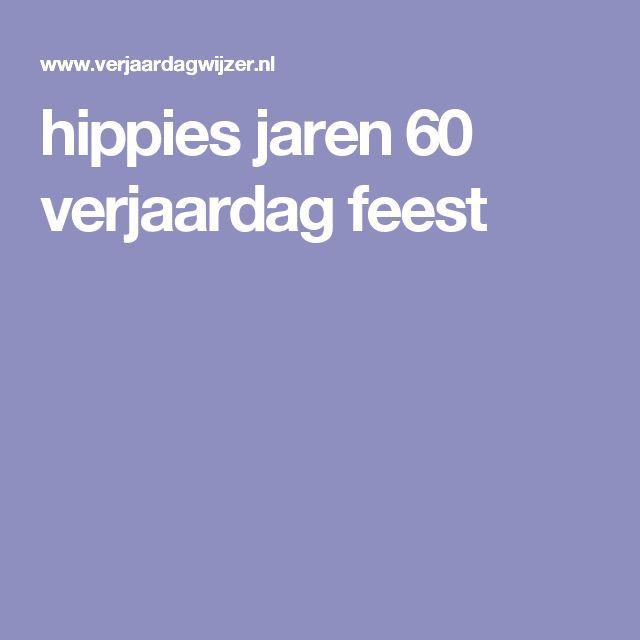 hippies jaren 60 verjaardag feest