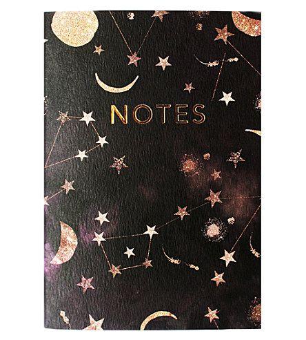 NIKKI STRANGE Nikki Strange Notes constellation A6 notebook