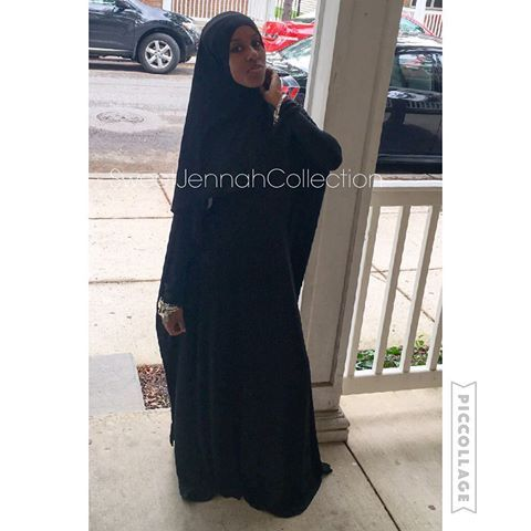 When your Jennah piece hit🔥🔥🔥🔥😍😍😍 call ☎️or 📲text (215)487-8320 #PayPal 💳 available #SweetJennahCollection #SJC #OverGarment #Overgarments #AlineOverGarment #Hijab #dress #SwingOverGarment #MashaAllah #Muslim #Muslimah #Beautiful #CoverGirl #Covered #Philly #PhillyOverGarments #Sisters #SisterHood #Queening #Queen #islam #IslamicFashion #Fashion #PhillySeamstress #Seamstress #MuslimFashion