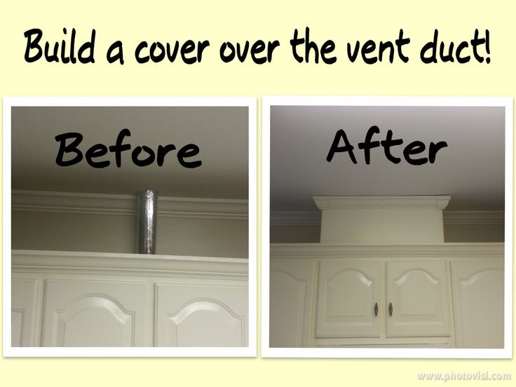 Diy Vent Cover Need Mdf Paint Crown Moulding Finishing
