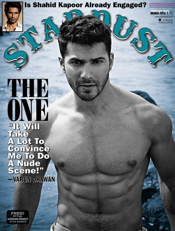 Varun Dhawan Photoshoot for Stardust Magazine March 2015