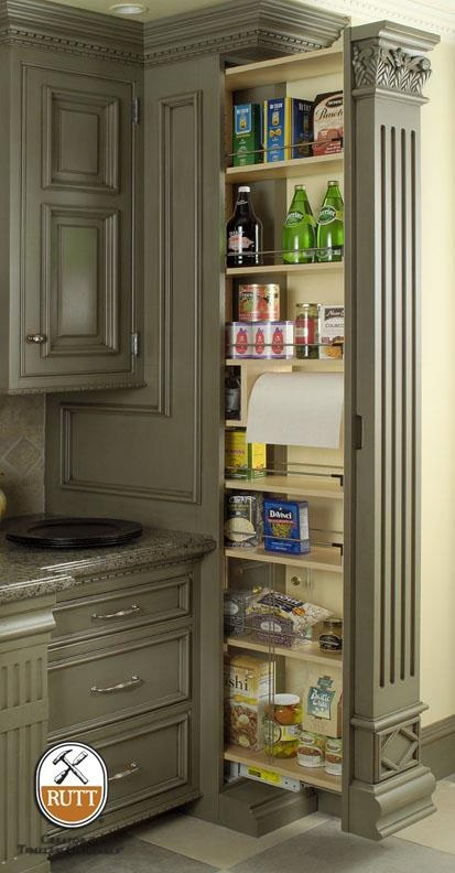Pantry hidden pantry and spaces on pinterest for Hidden pantry