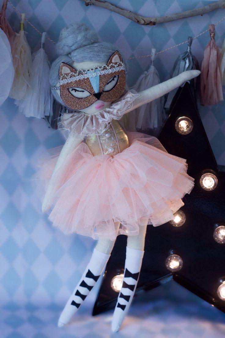 Nikki kitty rag doll ballerina