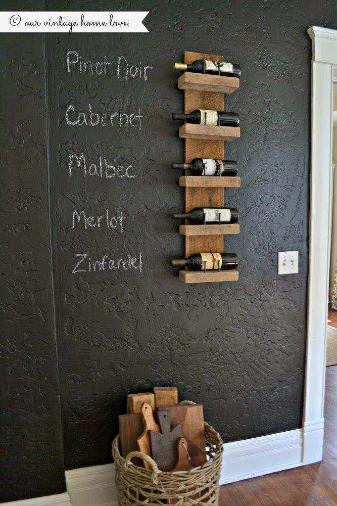 Best 25 Homemade Wine Racks Ideas On Pinterest Wine