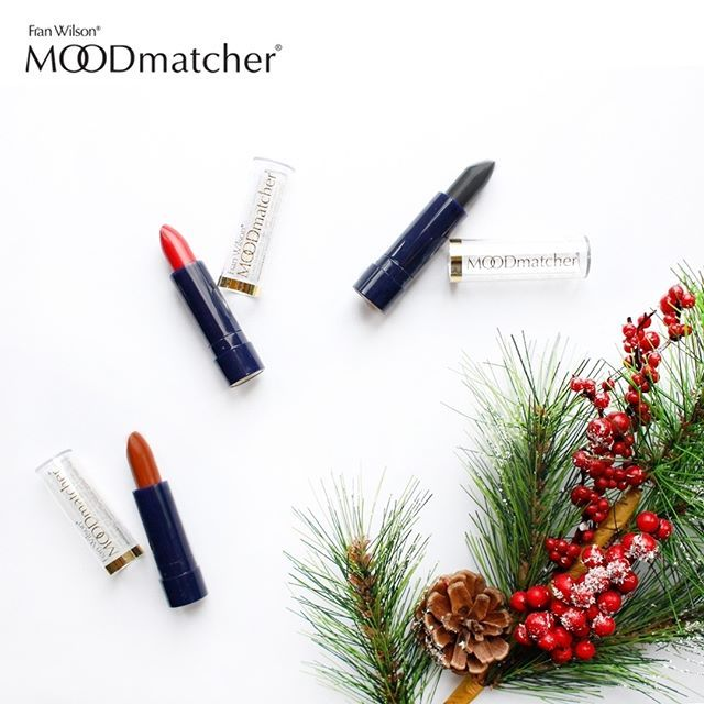 Happy Holidays Moodmatcher family! Don't forget to enter the holiday #giveaway (check the post with the red ribbon)! ❄️ #moodmatcher #moodmatcherlipstick #franwilson #franwilsoncosmetics #franwilsonbeauty #lipstick #lipsticklovers #beauty #beautyproduct #holidays #happyholidays #merrychristmas #tistheseason