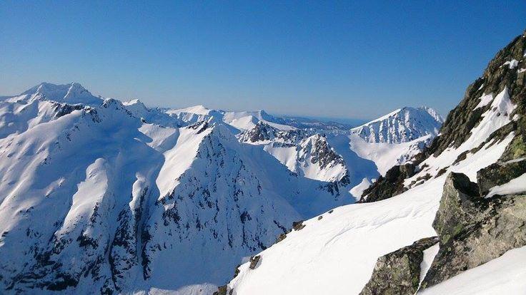 View from Fingeren, Norway.