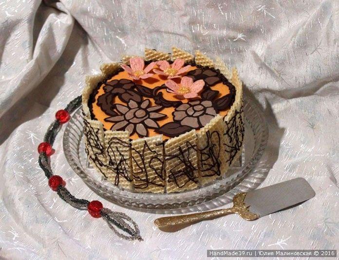 Рецепт торта «Абрикотин»