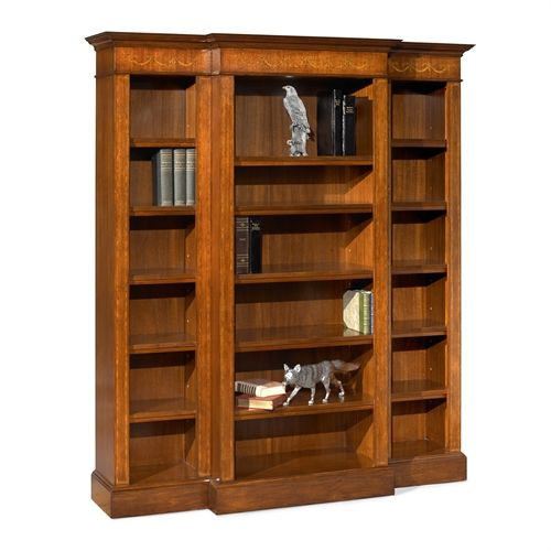 Mahogany Bookcase, Extra Wide