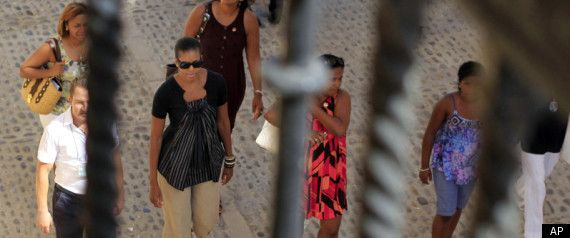 SPAIN - AUGUST 2010:  Mooch OBAMA's vacation to SPAIN, yet another ELABORATE vacation, cost the U.S. Air Force and Secret Service at least $467,585.  The OBAMA'S VACATIONS were, in part, to blame for the SCANDAL over excessive spending by the GSA.  While the OBAMA's picked up some of the immediate (personal) costs, the Government spent a considerable sum on PROTECTION.  Flights were $199,300.  Secret Service Protection costs were $254,500.   click to read more....