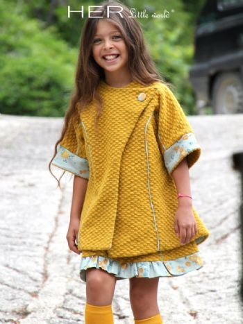 Her little world couture patron pour v tement enfant veste craquante sewing for kids - Vetement bebe fille fashion ...