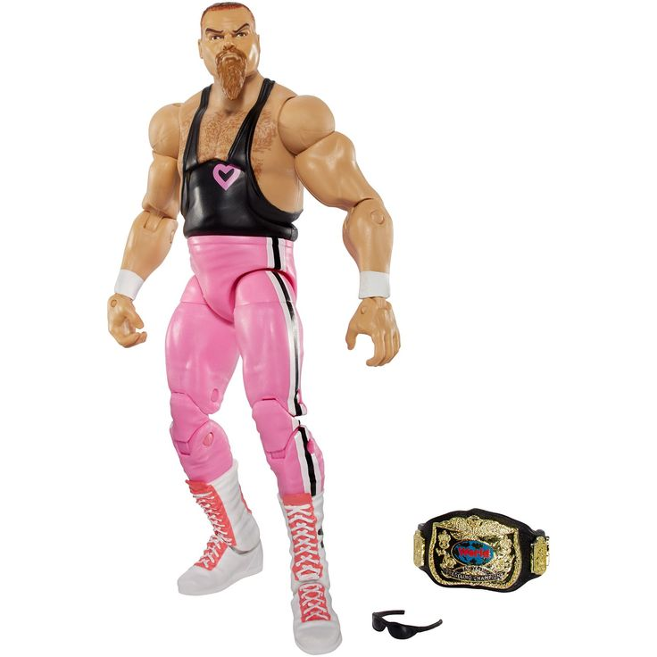 WWE Elite Jim Neidhart Action Figure, Action & Toy Figures