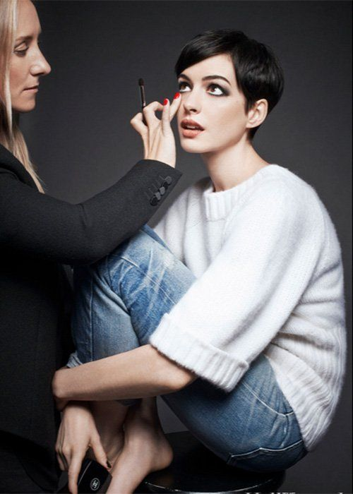 anne hathaway | for the hollywood reporter beauty issue 2013