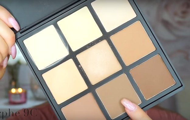 Trendy Makeup Tips :    Picture    Description  Morphe 9C Contour Palette | Too Faced Chocolate Bon Bons Makeup Tutorial, check it out at makeuptutorials.c…
