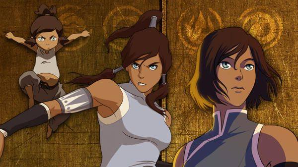 "Nickelodeon video: ""The Evolution of Korra."" A great look at what she did through the show's four seasons."