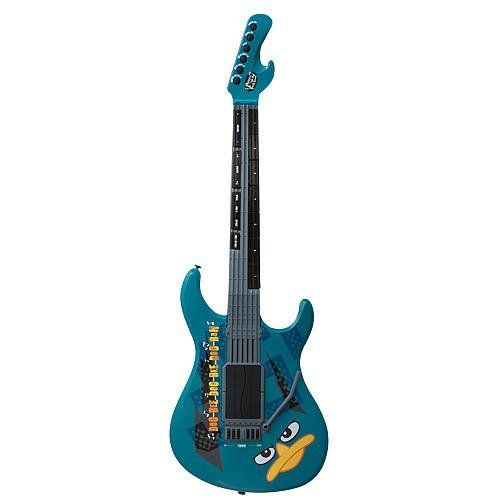 Phineas And Ferb Guitar: Phineas And Ferb Rock N Roll Guitar Perry By Disney. $19